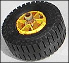 1965-67 Injection Molded Tire