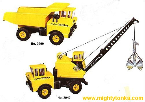 1966 Mighty Dump and Mighty Crane