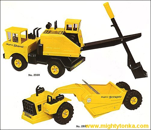 1967 Mighty Shovel and Mighty Scraper