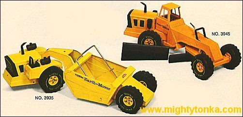 1974 Mighty Earth Mover, Mighty Grader