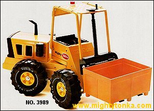 1976 Mighty Forklift with Container