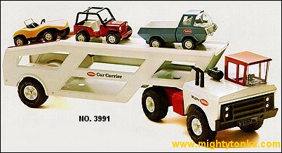 1976 Mighty Car Carrier