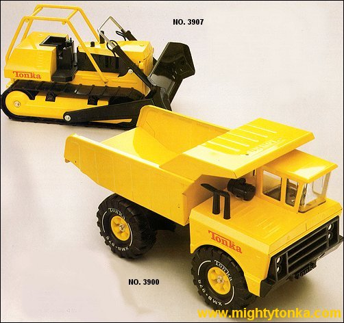 1978 Mighty Dump and Bulldozer