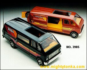 1979 Mighty Custom Van