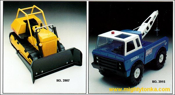 1979 Mighty Bulldozer and Mighty Wrecker
