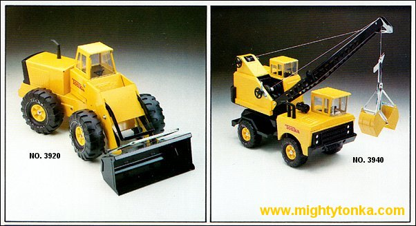 1979 Mighty Loader and Mighty Crane