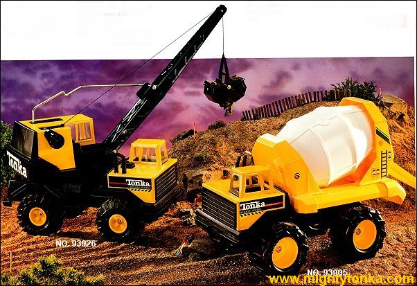 1993 Mighty Crane and Mighty Mixer