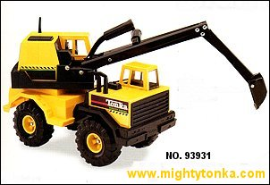 1995 Mighty Backhoe