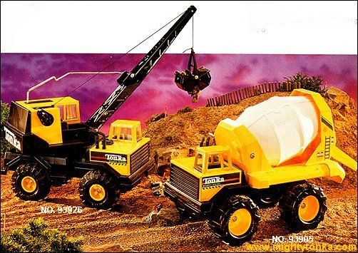 1995 Mighty Crane and Mighty Mixer