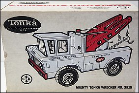 1969-1970 Mighty Wrecker Packaging
