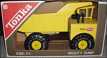 1976 Mighty Dump Packaging