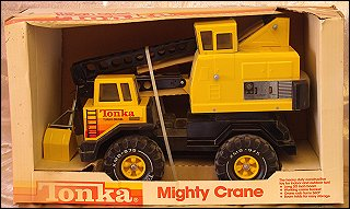 1983 Mighty Crane Packaging