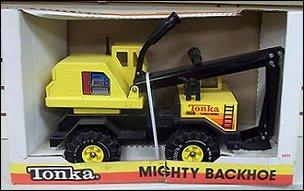 1987 Mighty Backhoe Packaging