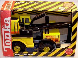 1990 Mighty Backhoe Packaging