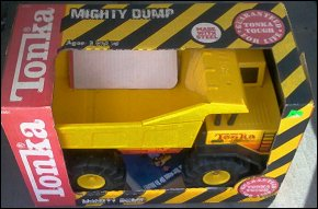 1990 Mighty Dump Packaging