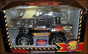 1990 Silver 25th Anniversary Mighty Dump Packaging