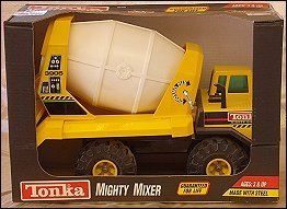 1993 Mighty Dump Packaging