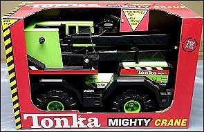 2000 Lime Green Mighty Crane Packaging