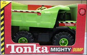 2000 Lime Green Mighty Dump Packaging