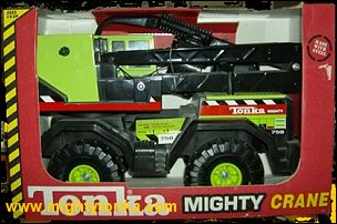 2000 Green Mighty Crane