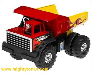 2000 Hot Rod Mighty Dump for Toys R Us